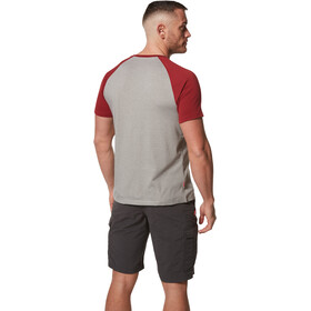 Craghoppers NosiLife Anello Shortsleeved Shirt Men, sftgryml/frd
